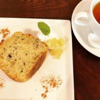 月ヶ瀬紅茶とりんごのパウンドケーキ