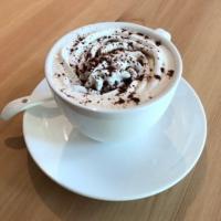 narairoカフェのウィンナーコーヒー