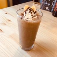 ならいろカフェのバナナラテスムージー