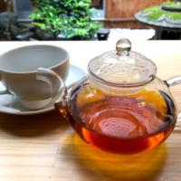 ならいろカフェの月ヶ瀬紅茶
