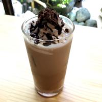 ならいろカフェのアイスカフェモカ