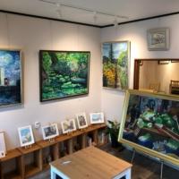 ギャラリーカフェnarairoの展示