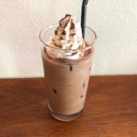 ならいろカフェのアイスココア