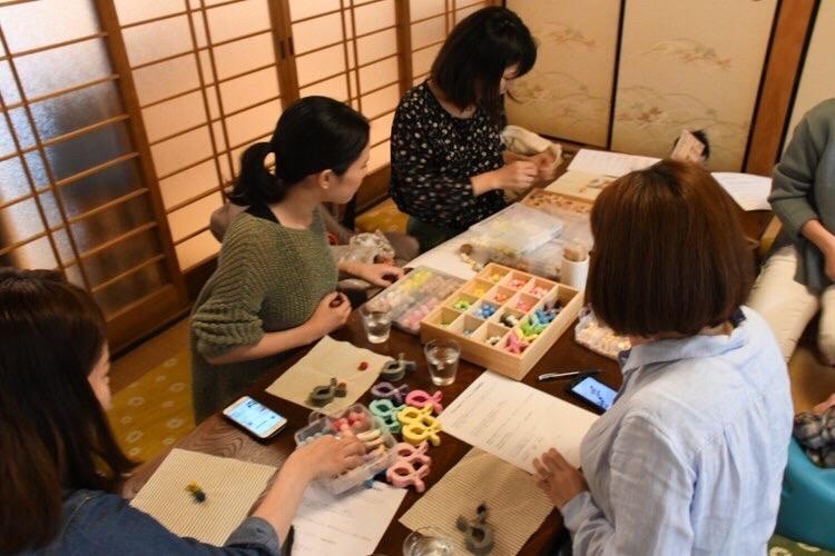 narairoカフェのワークショップの様子