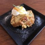 カラメル林檎と紅茶のパウンドケーキ