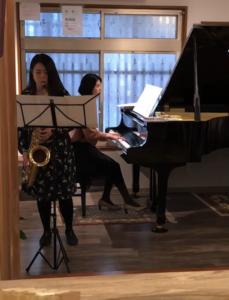narairoでの音楽イベント演奏