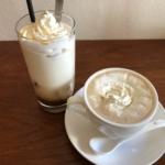 narairoカフェのホワイトチョコラッテ