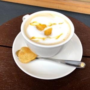 ならいろカフェの焼き芋オレ
