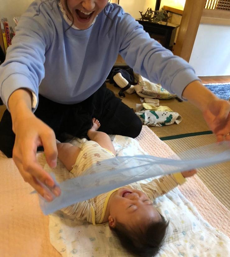 ベビマ糸さんがnarairoカフェでベビーマッサージ教室開催