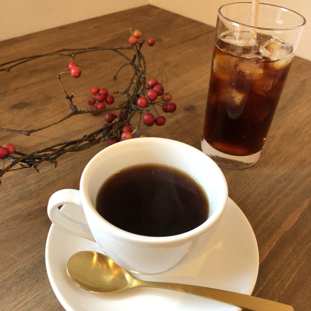 narairoカフェの限定珈琲